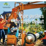 Alkadyne® HCR193B case study features on cover of Trenchless Australasia