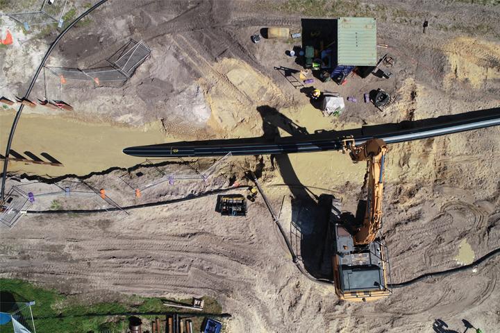 altitude imaging watercorp pipe