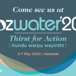 OzWater'20 – UPDATE Ozwater'20 will not proceed in May due to COVID-19
